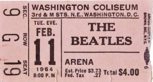 Ingresso - Show Beatles em Washington